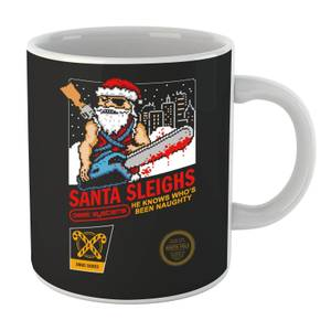 Santa Sleighs Mug