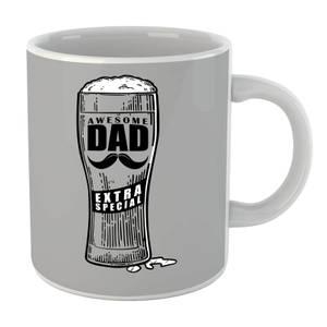 Awesome Dad Beer Glass Mug