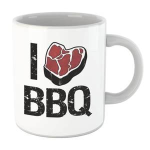 I Love BBQ Mug