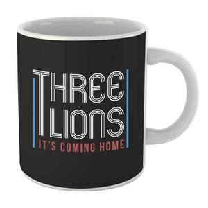 Three Lions Its Coming Home Mug