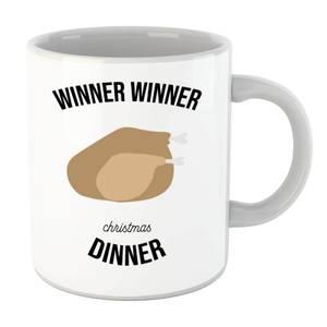 Winner Winner Christmas Dinner Mug