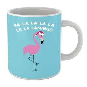 Fa La La La La La La Lamingo Mug