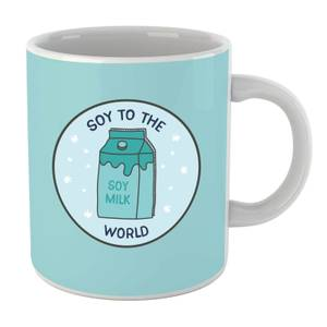 Soy To The World Mug
