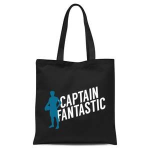 Captain Fantastic Tote Bag - Black