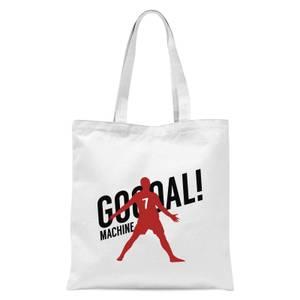 Goal Machine Tote Bag - White