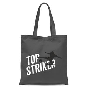 Top Striker Tote Bag - Grey