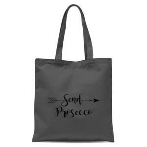 Send Prosecco Tote Bag - Grey