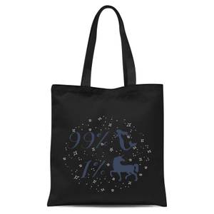99% Mermaid 1 % Unicorn Tote Bag - Black