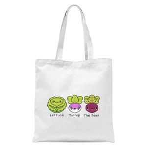 Turnip The Beet Tote Bag - White