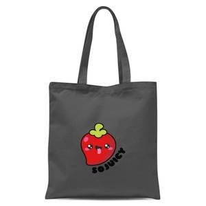 So Juicy Tote Bag - Grey