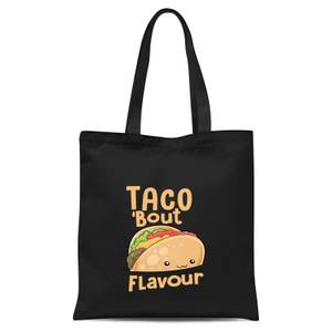Taco 'Bout Flavour Tote Bag - Black