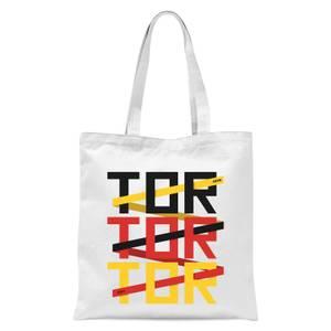 TOR TOR TOR Tote Bag - White
