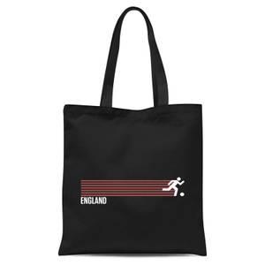 England Forward Tote Bag - Black