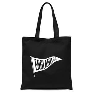 England Pennant Tote Bag - Black