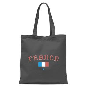 France Tote Bag - Grey