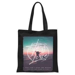 Hang Loose Tote Bag - Black