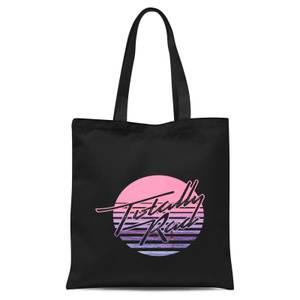 Totally Rad Tote Bag - Black