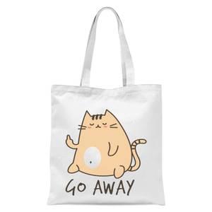 Go Away Tote Bag - White