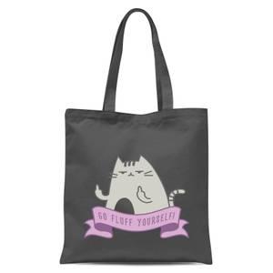 Go Fluff Yourself! Tote Bag - Grey