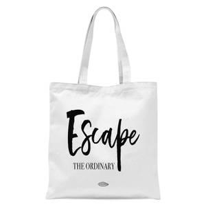 Escape The Ordinary Tote Bag - White