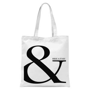 & Breathe Tote Bag - White
