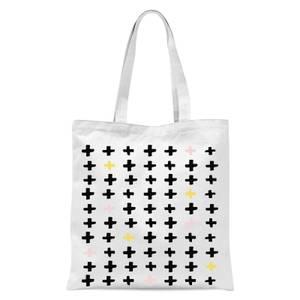 Crosses Tote Bag - White