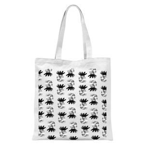 Pineapple Tote Bag - White