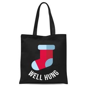 Well Hung Tote Bag - Black