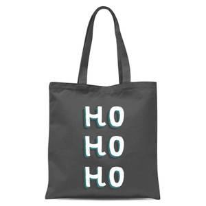Ho Ho Ho Tote Bag - Grey