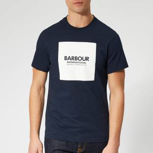 Barbour International Men's Block T-Shirt - Navy