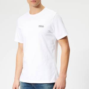 Barbour International Men's Essential Small Logo T-Shirt - White