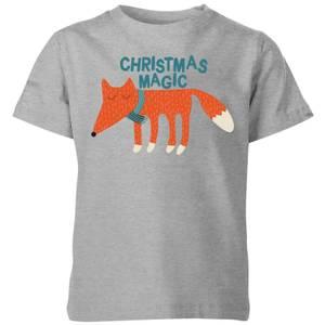 Christmas Magic Kids' T-Shirt - Grey