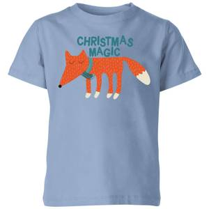 Christmas Magic Kids' T-Shirt - Sky Blue