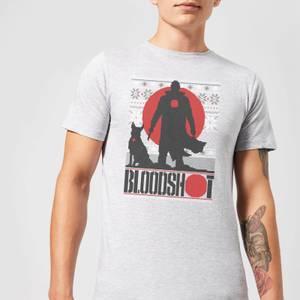 Valiant Bloodshot Men's Holiday T-Shirt - Grey