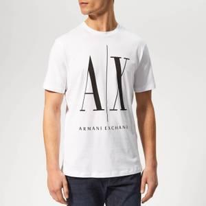 Armani Exchange Men's Oversized Print T-Shirt - White