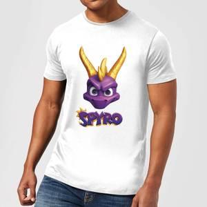 Spyro Face Herren T-Shirt - Weiß
