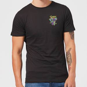 Spyro Retro Pocket Men's T-Shirt - Black