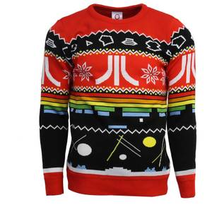 Atari Christmas Jumper - Red