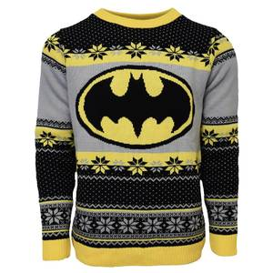 Batman Christmas Jumper - Black