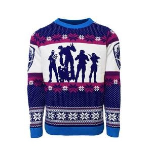 Guardians of the Galaxy Christmas Jumper - Blue
