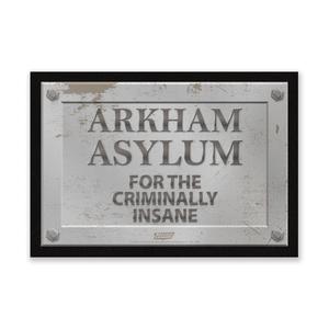 DC Comics Arkham Asylum Entrance Mat