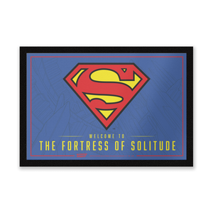 Paillasson Welcome To The Fortress Of Solitude DC Comics