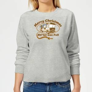 National Lampoon R.V. Women's Christmas Sweatshirt - Grey