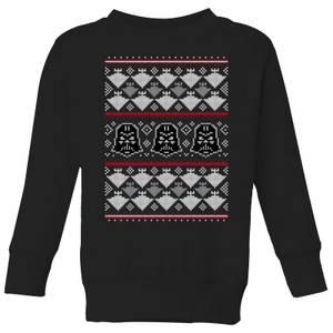 Star Wars Imperial Darth Vader Kids' Christmas Sweatshirt - Black