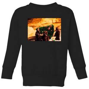 Star Wars Jawas Christmas Tree Kids' Christmas Sweatshirt - Black