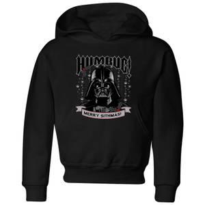 Felpa con cappuccio Star Wars Darth Vader Humbug Christmas- Nero - Bambini