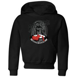 Star Wars Chewbacca Arrrrgh Socks Again Kids' Christmas Hoodie - Black