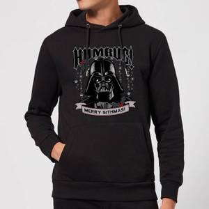 Star Wars Darth Vader Humbug Christmas Hoodie - Black