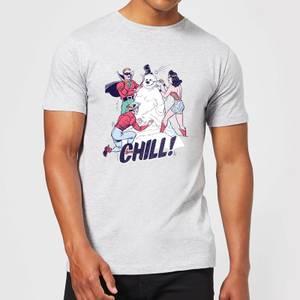 DC Chill! Men's Christmas T-Shirt - Grey