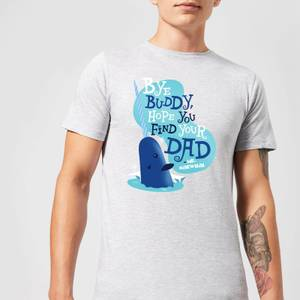 Elf Bye Buddy Men's Christmas T-Shirt - Grey